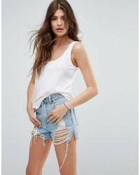 ASOS - The Ultimate Tank With Curved Hem - Lyst