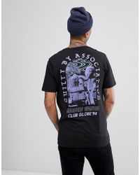 Globe - 94 T-shirt With Skate Back Print In Black - Lyst