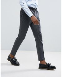 SELECTED - Skinny Smart Pants With Stretch - Lyst