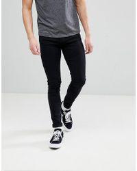 Dr. Denim - Leroy Black Skinny Jeans - Lyst