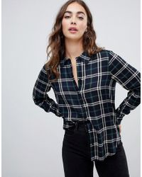 Warehouse - Shirt In Check - Lyst