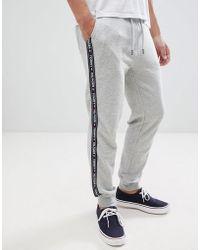 51809cbd933 Tommy Hilfiger - Pantalon de jogging confort authentique resserr aux  chevilles avec bande logo sur le