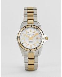 Dyrberg/Kern - Silver And Gold Watch - Lyst