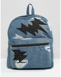 Juicy Couture - Pacific Denim Backpack - Lyst