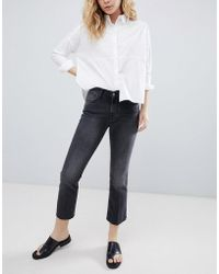 Bethnals - Tilly Cropped Kick Flare Jeans - Lyst