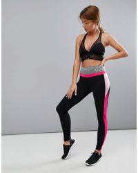 ELLE Sport - S Pink Mesh Leggings - Lyst