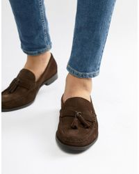 Loco Tassel Loafers In Tan Leather - Tan Ben Sherman Visit For Sale juNWLn