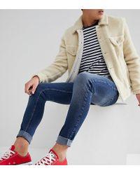 Just Junkies - Super Skinny Jeans In Mid Wash - Lyst