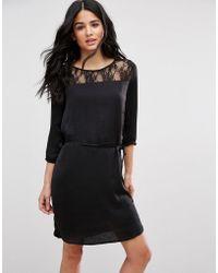 Blend She | Dotto Elasticated Waist Dress | Lyst