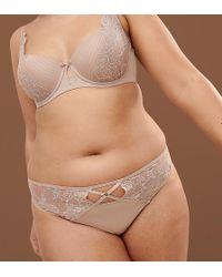 Ashley Graham - Nude Thong In Fair - Lyst