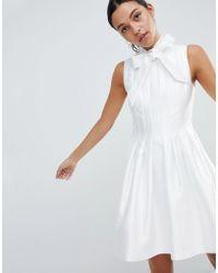 Ted Baker - Doora Structured Dress - Lyst