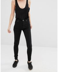 Dr. Denim - Solitaire High Waist Super Skinny Jeans - Lyst