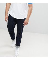 Lyle & Scott - Plus Slim Fit Jeans In Rinse Wash - Lyst