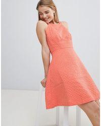 e32368f9b2f3 Louche Moesha Floral Print Dress in Pink - Lyst