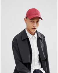 Esprit - Baseball Cap In Burgundy - Lyst
