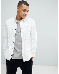 Another Influence - Off White Worker Coat - Lyst