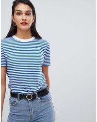 SELECTED - Femme Stripe T-shirt - Lyst
