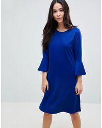 06082cd3034c B.Young - Flared Sleeve Skater Dress - Lyst