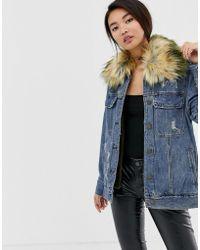 Blank NYC - Group Love Oversized Denim Jacket - Lyst
