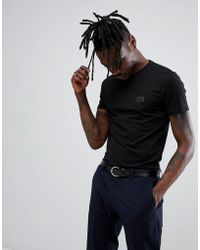 Antony Morato - T-shirt In Black With Logo - Lyst
