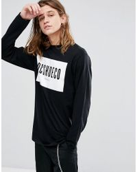 DC Shoes - Long Sleeve T-shirt With Squareside Logo - Lyst