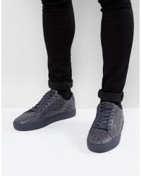 Religion - Ostrich Trainers In Blue - Lyst