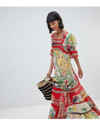 Anna Sui - Exclusive Maxi Dress In Florida Sunshine Print - Lyst
