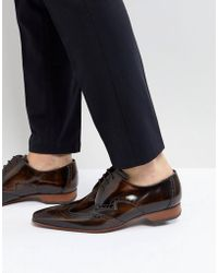 Jeffery West - Escobar Brogue Shoes In Brown - Lyst