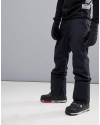 Quiksilver - Estate Snow Trousers In Black - Lyst