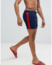 Another Influence - Side Stripe Swim Short - Lyst