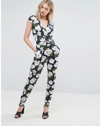 Oasis | Floral Tailored Jumpsuit | Lyst