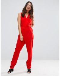 Lavand - Tailored Jumpsuit With Cut Out Back - Lyst