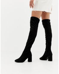 Pimkie - Heeled Over The Knee Boot - Lyst
