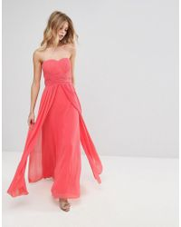 Bridal Lace Maxi 'molly' Dress Dorothy Lyst White Showcase Perkins In K3JuT1clF