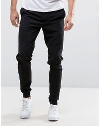 Casual Friday - Smart Woven Joggers - Lyst