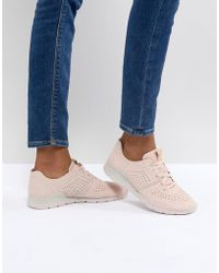 UGG - Tye Pink Trainers - Lyst