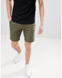 Blend - Chino Shorts With Belt - Lyst
