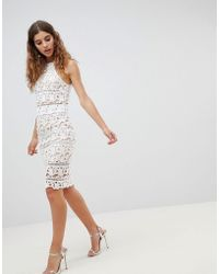 New Look - Lace Skirt Co-ord - Lyst