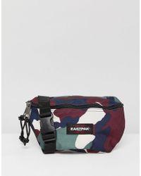 Eastpak - Springer Bum Bag In Camo 2l - Lyst
