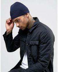 Minimum - Knitted Beanie Hat - Lyst
