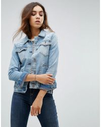 Hilfiger Denim - Star Print Denim Jacket - Lyst