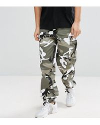 Reclaimed (vintage) - Revived Camo Cargo Pants - Lyst