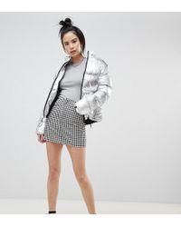 Pull&Bear - Zip Front Mini Skirt - Lyst