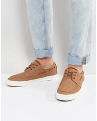 Call It Spring | Martel Canvas Boat Shoes | Lyst