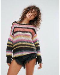 Billabong - Knitted Beach Jumper - Lyst