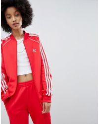 Lyst Adidas Originali Degli Originali Tre Strisce Giubbotto Primario