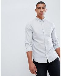 Bellfield - Textured Shirt - Lyst