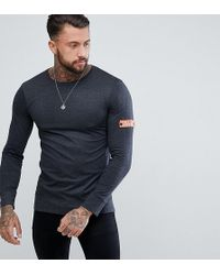 Brooklyn Supply Co. - Long Sleeve T-shirt With Arm Band - Lyst
