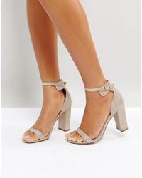 Office - Hip Heeled Sandals - Lyst
