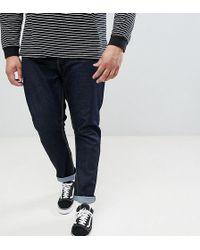Jacamo - Straight Fit Jeans In Indigo Wash - Lyst